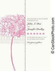 Un pasado floral rosa del vector