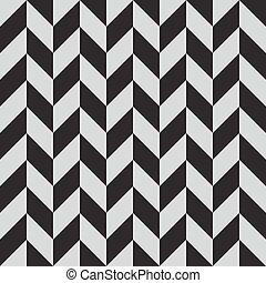 Un patrón abstracto del monocromo monocromo sin costura