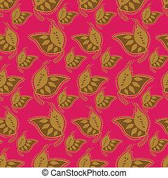 Un patrón colorido sin costura