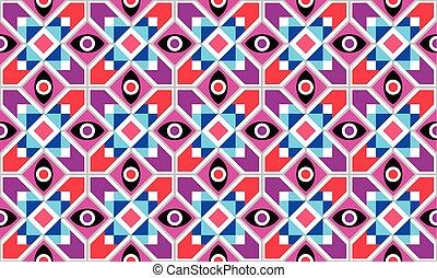 Un patrón de vector geométrico abstracto sin costura