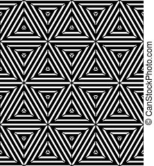 Un patrón geométrico sin costura