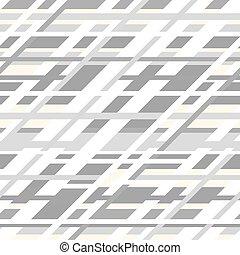 Un patrón retro geométrico sin costura en colores grises