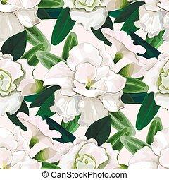Un patrón suave de azalea