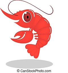 Un personaje de camarón