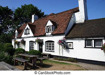 Un pub inglés