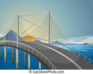 Un puente largo
