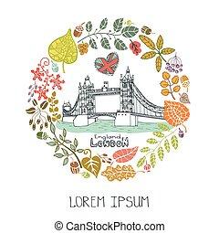 Un punto de referencia de Londres