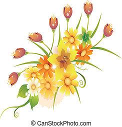 Un ramo floral
