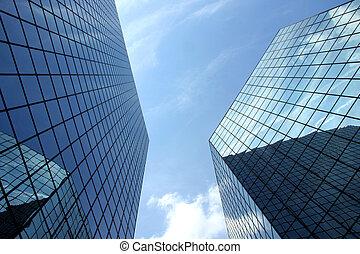 Un rascacielos moderno