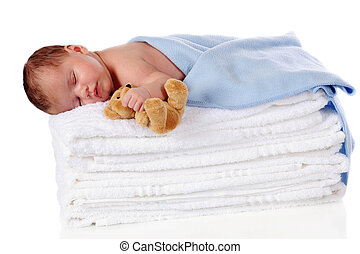 Un recién nacido pacífico