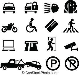 Un recordatorio del estacionamiento