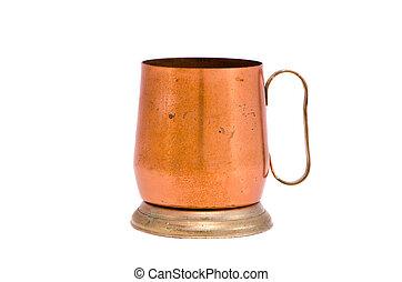 Un recuerdo de la taza de cobre