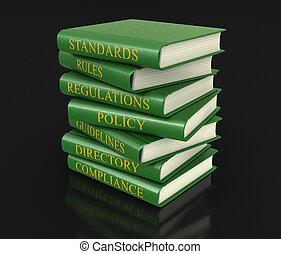 Un registro de cumplimiento y reglas