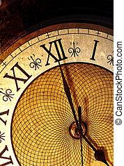 Un reloj antiguo