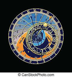 Un reloj astronómico