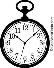 Un reloj de bolsillo