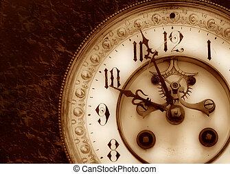 Un reloj de vinagre