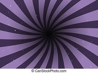 Un remolino de vector púrpura