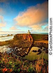 Un retrato de la costa de Oregon
