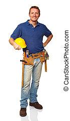Un retrato de obrero