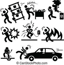 Un riesgo de explosión accidental