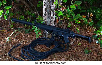 Un rifle tranquilo