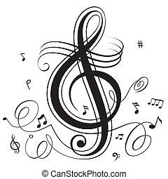 Un ritmo musical