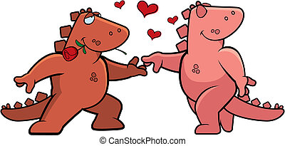 Un romance dinosaurio