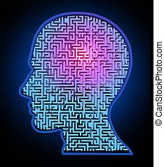 Un rompecabezas de inteligencia humana