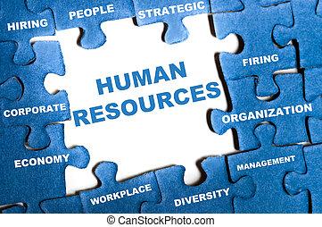 Un rompecabezas de recursos humanos