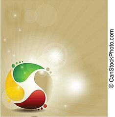 Un símbolo colorido