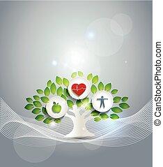 Un símbolo de vida saludable