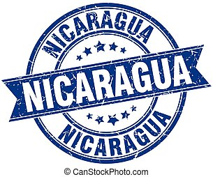 Un sello de cinta vintage de Nicaragua
