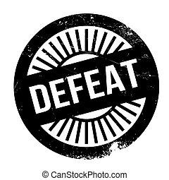Un sello de derrota