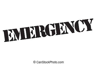 Un sello de emergencia