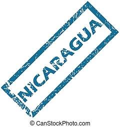 Un sello de goma de Nicaragua