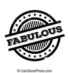 Un sello de goma fabuloso
