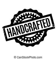 Un sello de goma hecho a mano