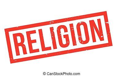 Un sello de goma religioso