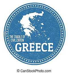 Un sello de Grecia