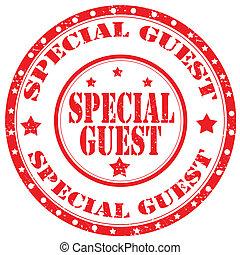 Un sello especial de invitados