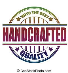 Un sello hecho a mano