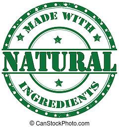 Un sello natural