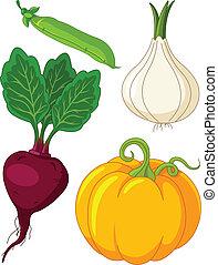 Un set de verduras 4