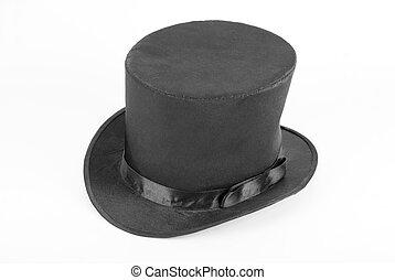 Un sombrero de magia negra