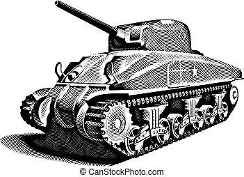 Un tanque americano