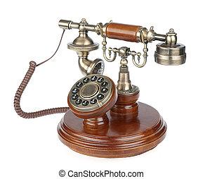 Un teléfono viejo