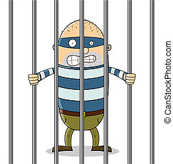 Un tipo malo en la cárcel