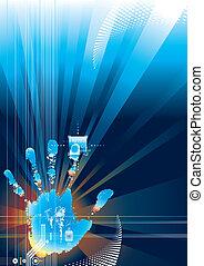 Un toque de seguridad digital
