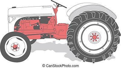 Un tractor antigótico